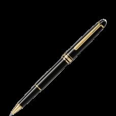 Montblanc Meisterstuck Classique Black Resin Gold Trim 163 Rollerball Pen