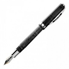 Visconti Wall Street Black Fountain Pen